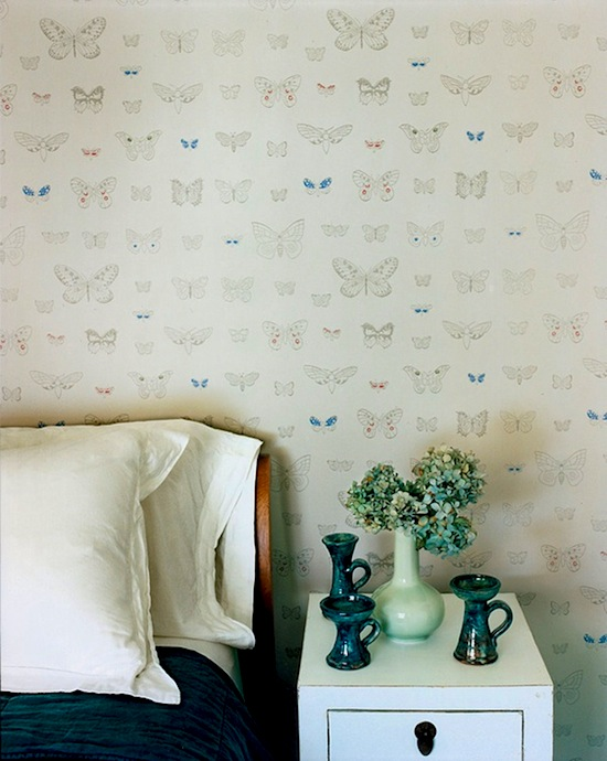 Download butterfly wallpaper for girls bedroom wall ideas [550x690 ...