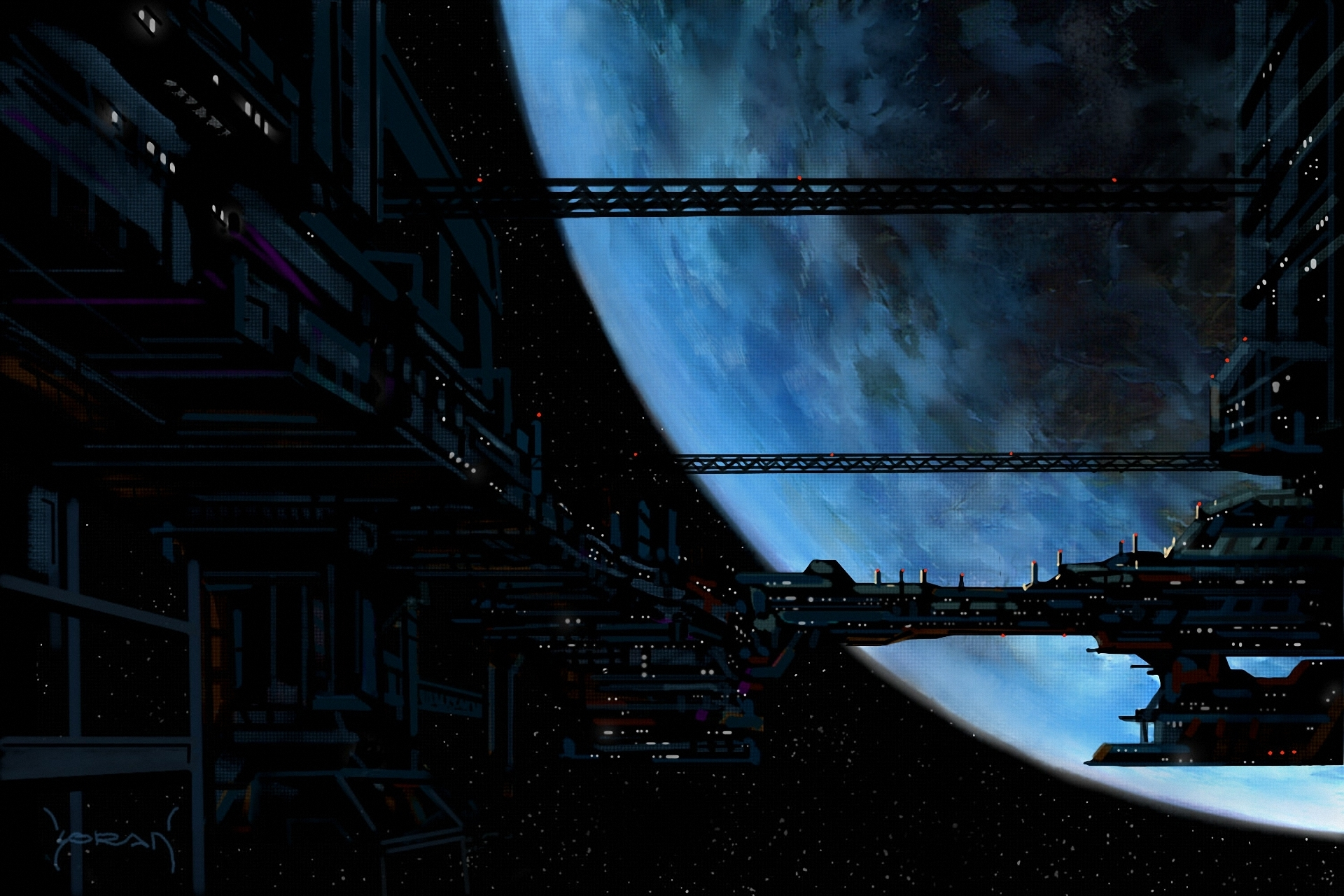 Sci fi ships wallpaper wallpapersafari for Sci fi background