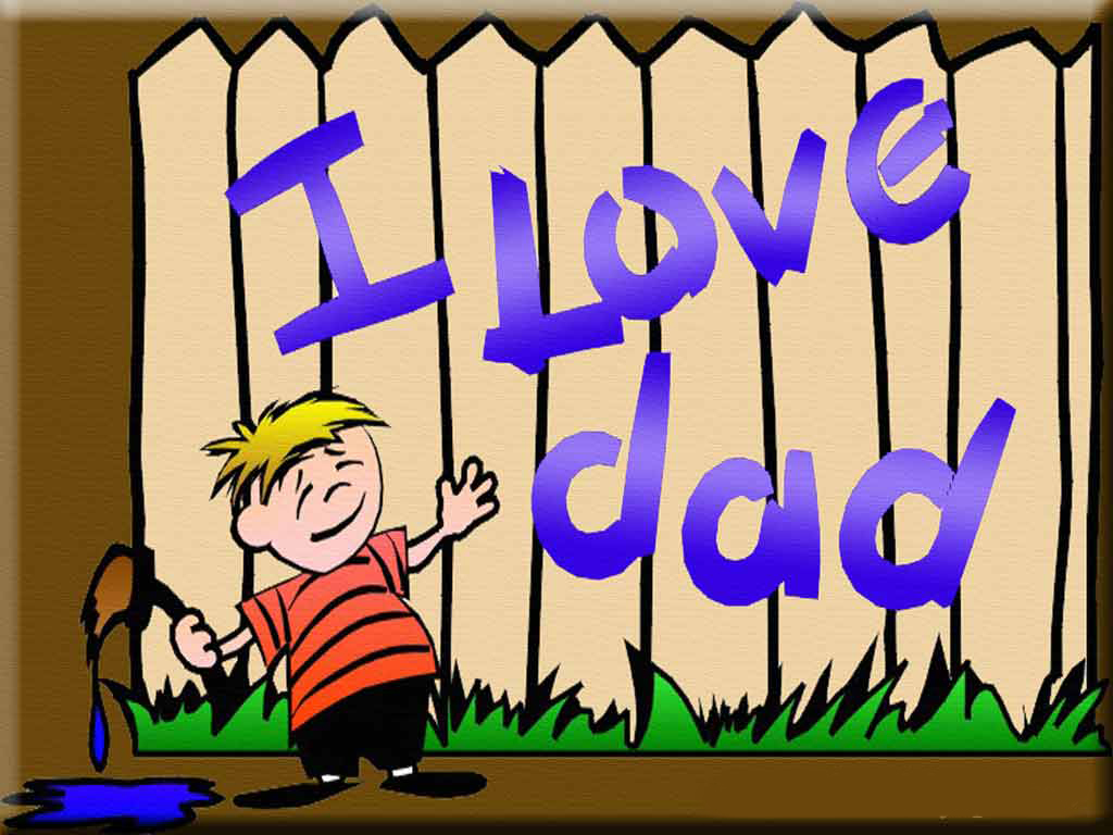 Love You Dad Backgrounds I love dad wallpaper 1024x768