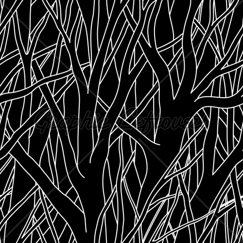 Trees Black Seamless Vector Wallpaper GL Stock Images 500x500