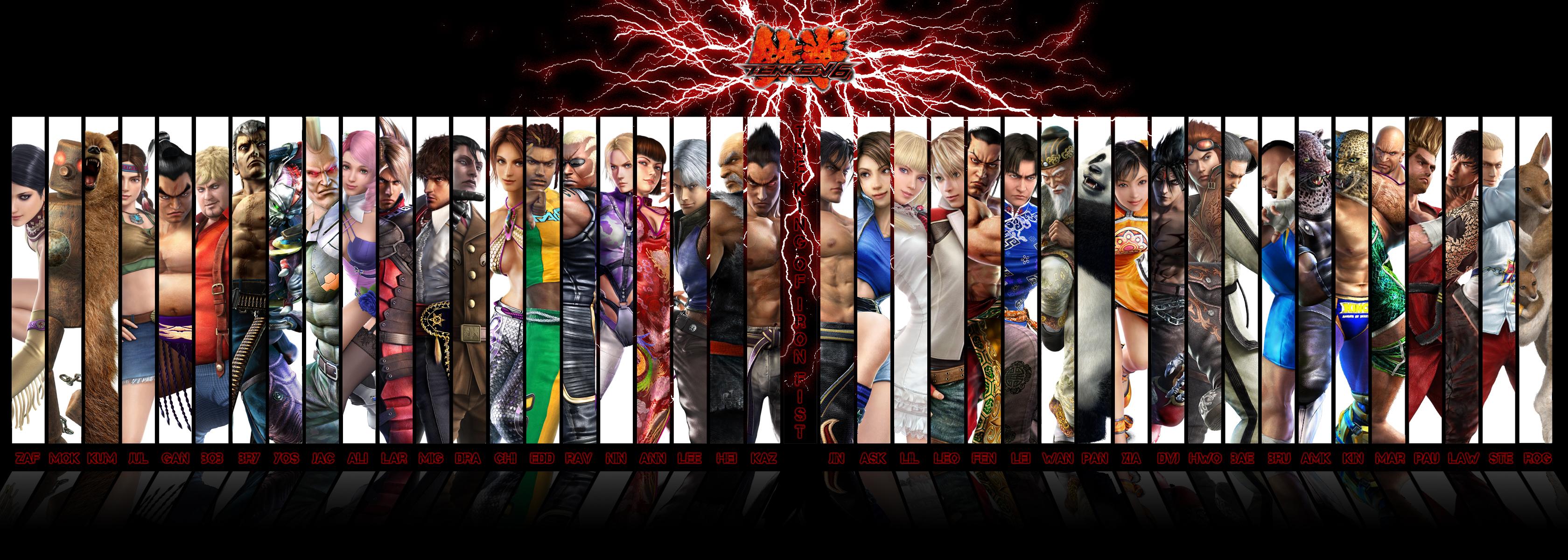 Tekken 6 Wallpaper by the4got10one 3360x1200