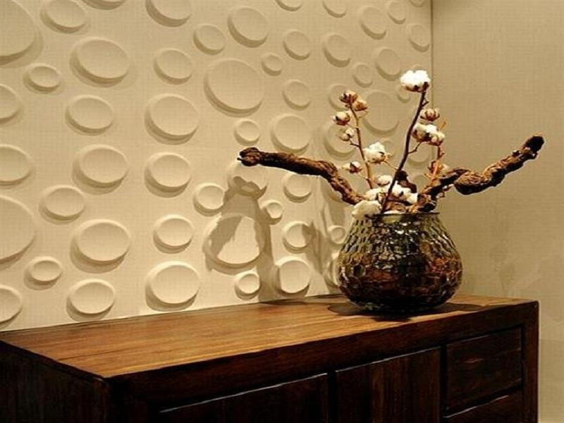 Cool Cream Textured Bubble Wallpaper Home Decor Bloombety 800x600