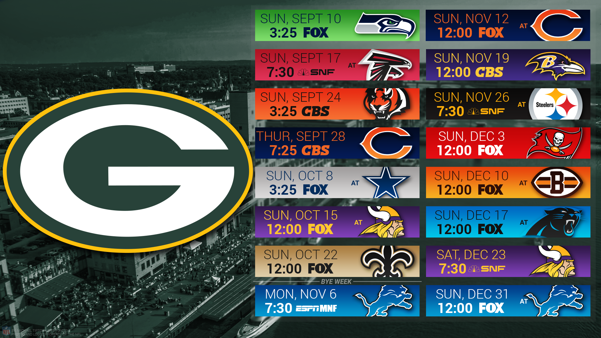 2016 Green Bay Packers Football Schedule Nfl Auto Review 1920x1080