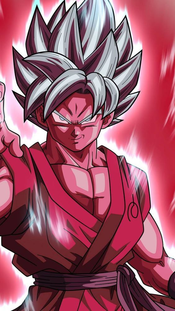Goku Kaioken time 20x SSJ Blue dragonbalsuperl Anime Super 564x1002