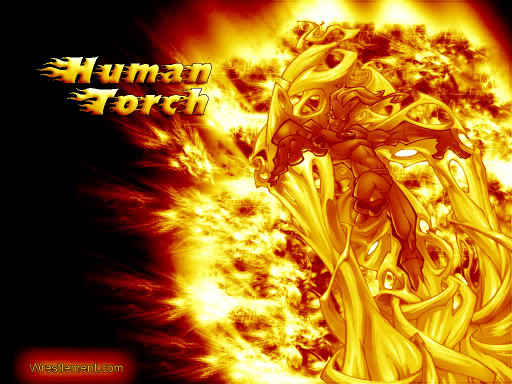 Human Torch Wallpaper For 512x384