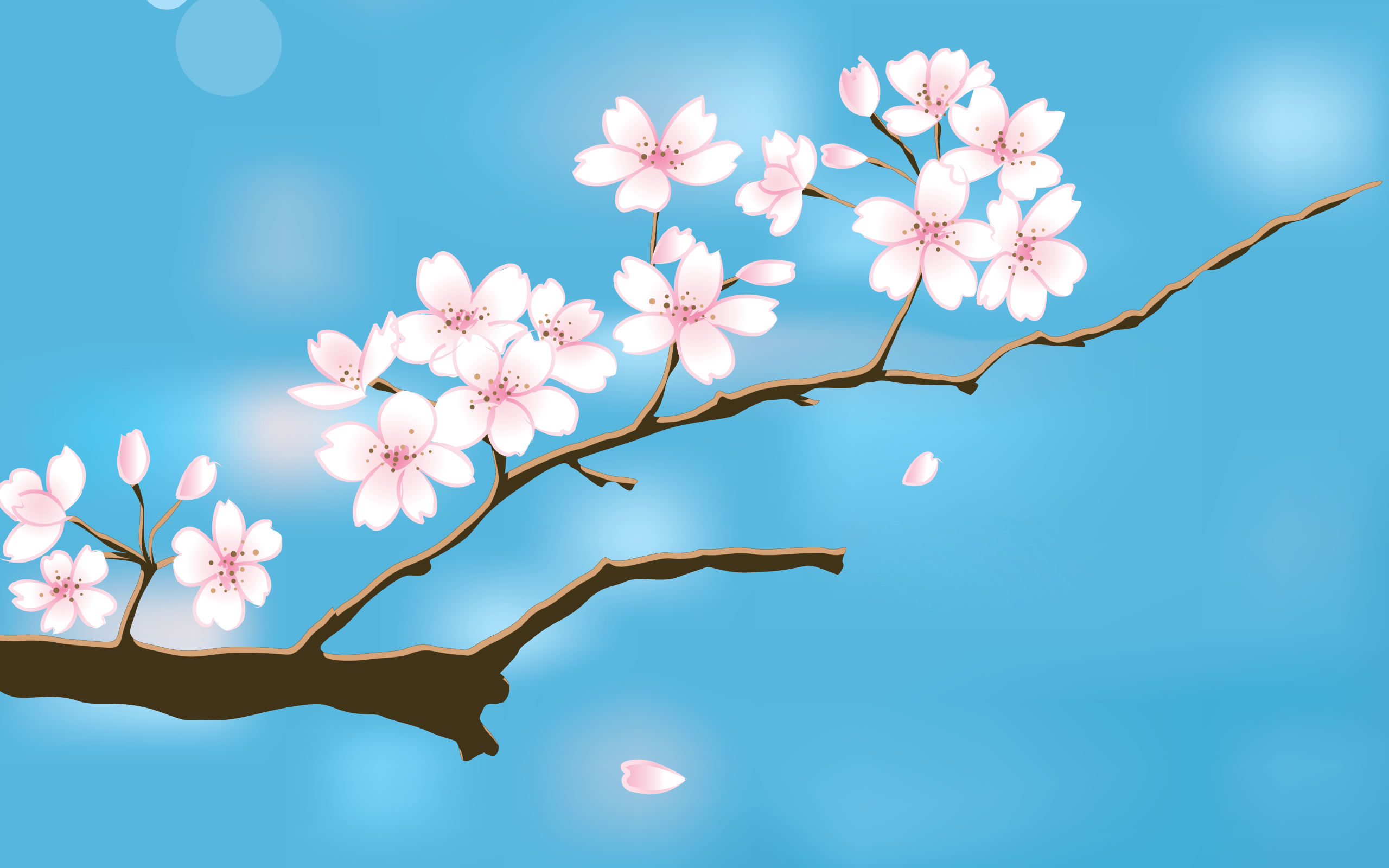 Spring background download 2560x1600