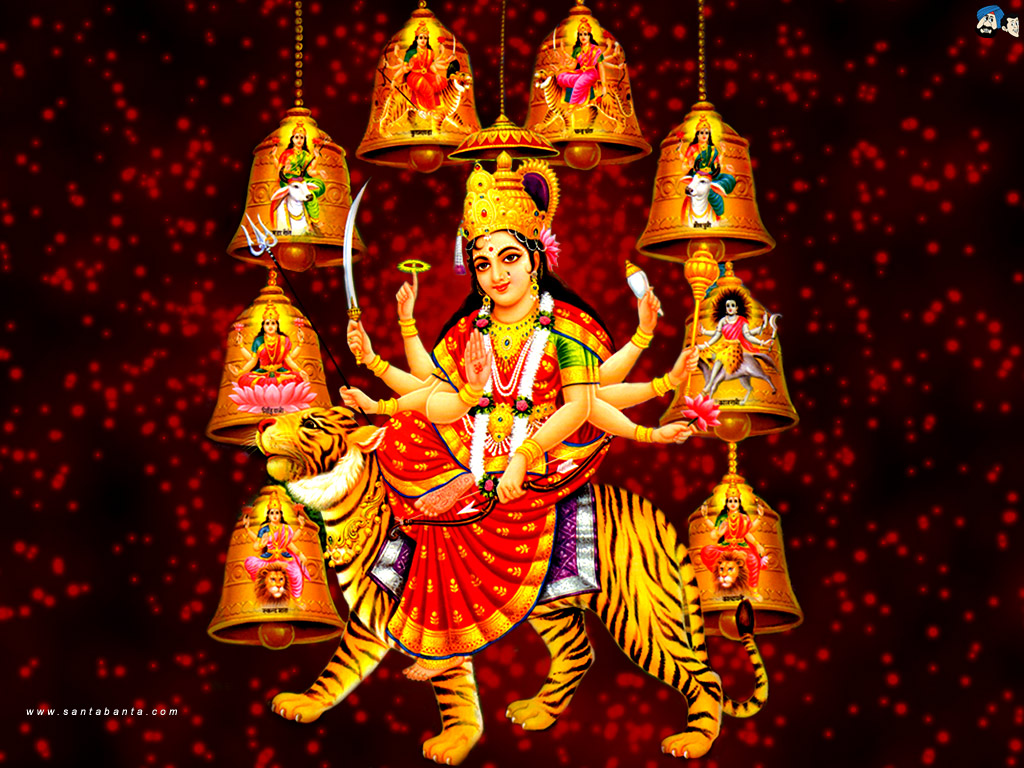 Goddess Durga Wallpaper 18 1024x768