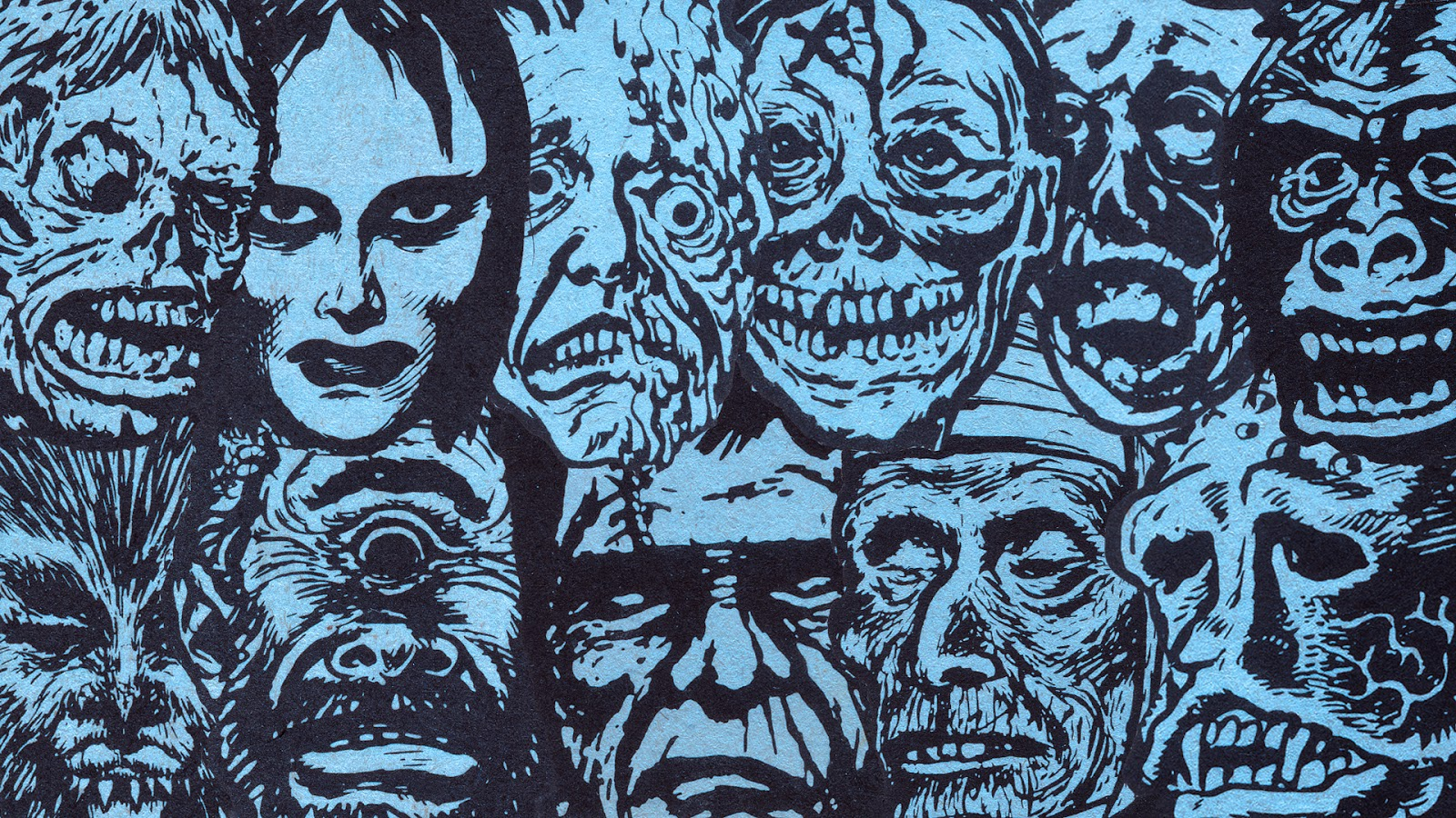 Viewing Gallery For   Classic Horror Monsters 1600x900