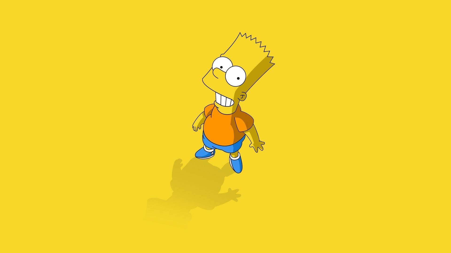 Bart Wallpaper   The Simpsons Wallpaper 1920x1080