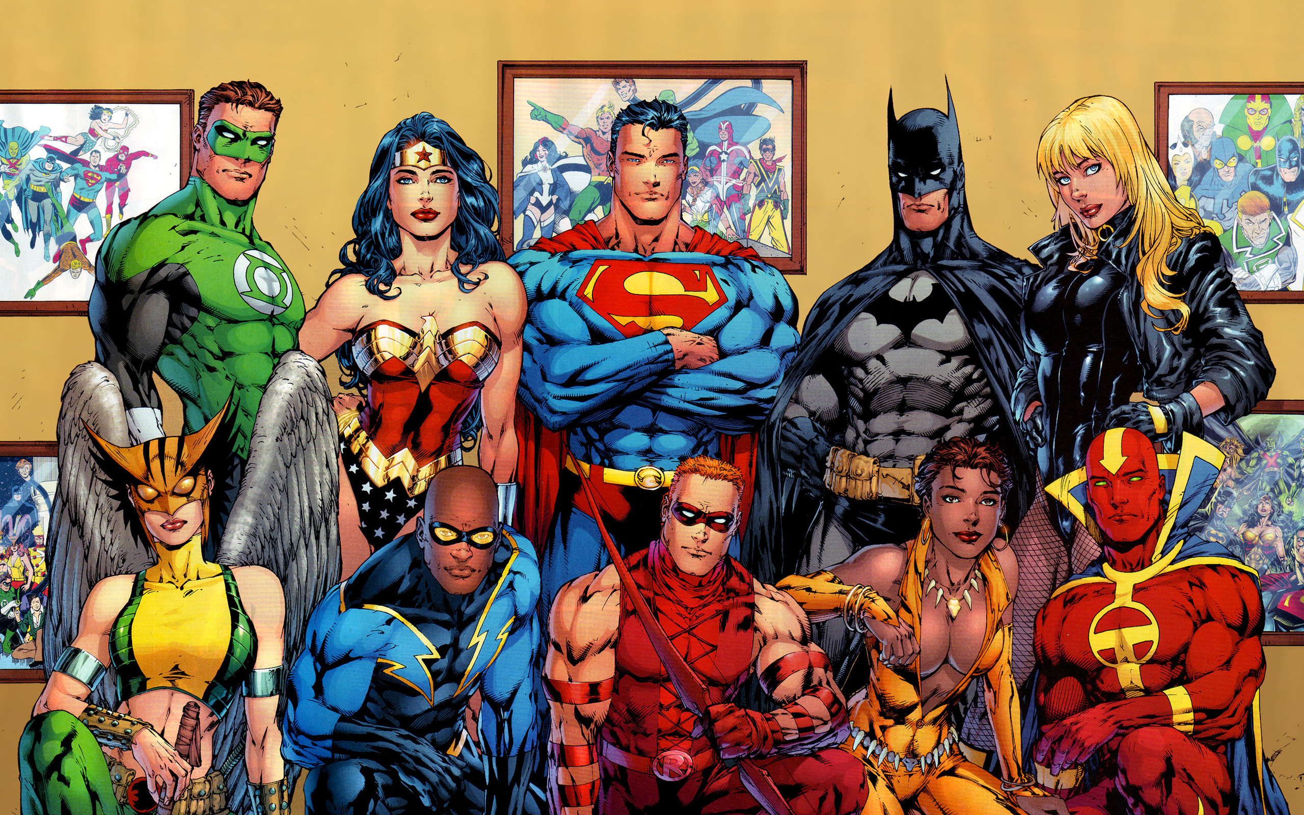 Justice League of America desktop wallpaper 2560x1600
