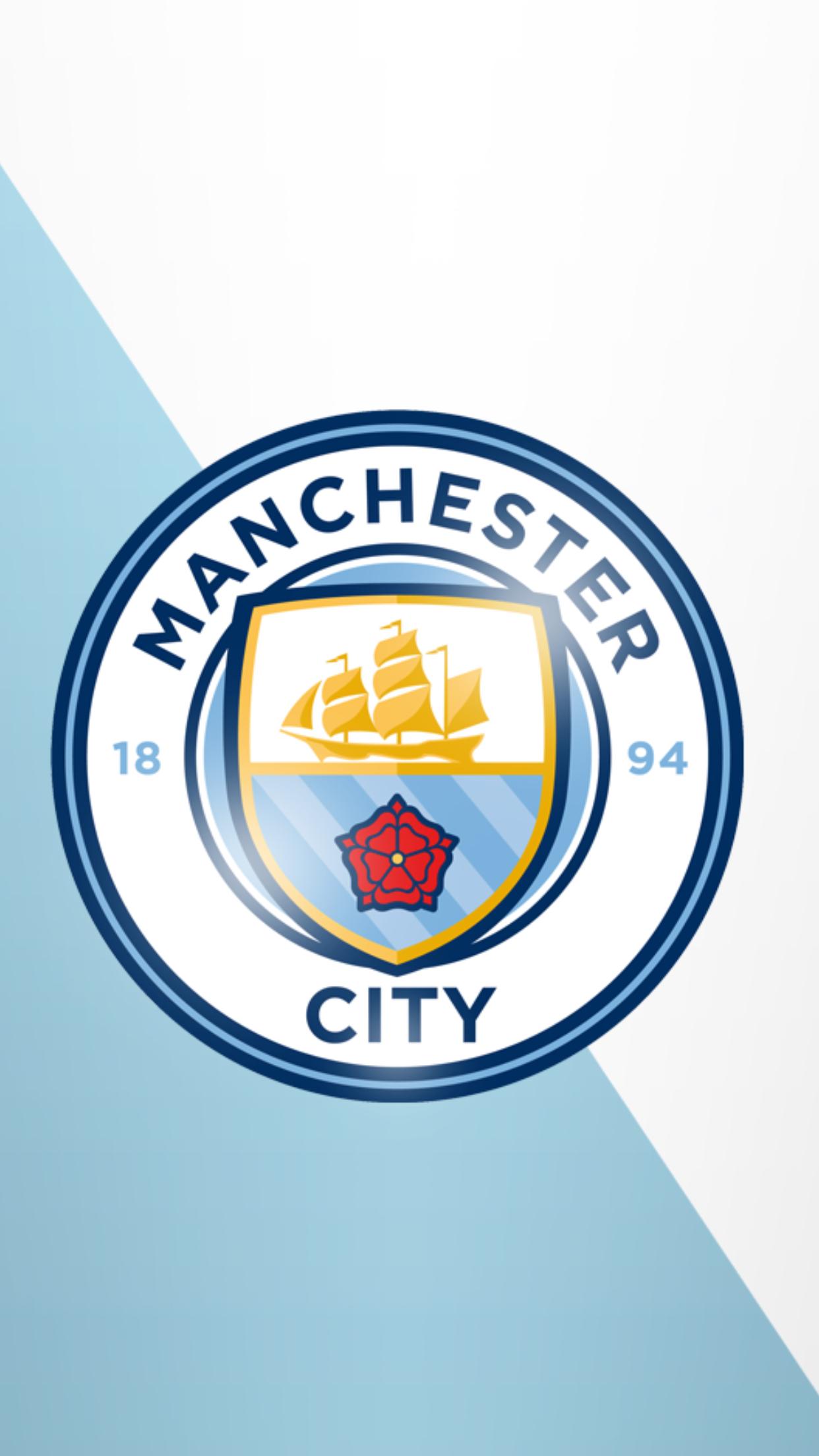 75+ Manchester City Logo Wallpaper on WallpaperSafari