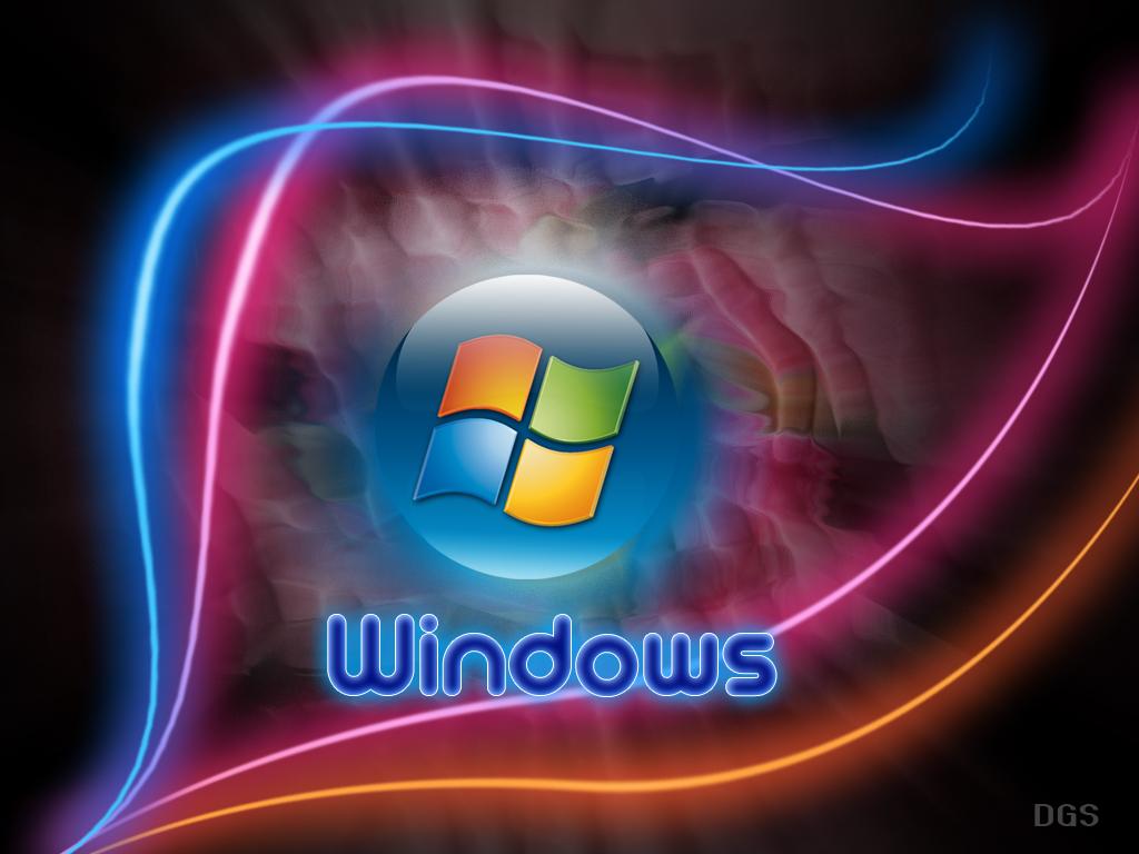 Windows Neon [1024x768] 1024x768