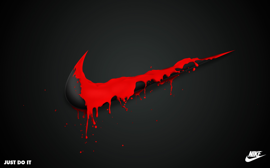 Wallpapers   Nike Spill by JustEvolve   Customizeorg 1050x656