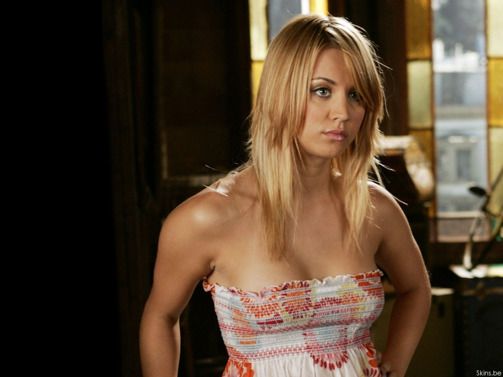Kaley Cuoco desktop wallpaper download in widescreen hd 30601 1024x768