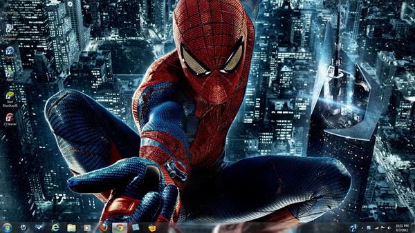 Marvel Super Heroes Theme Packs for Windows 7 600x338