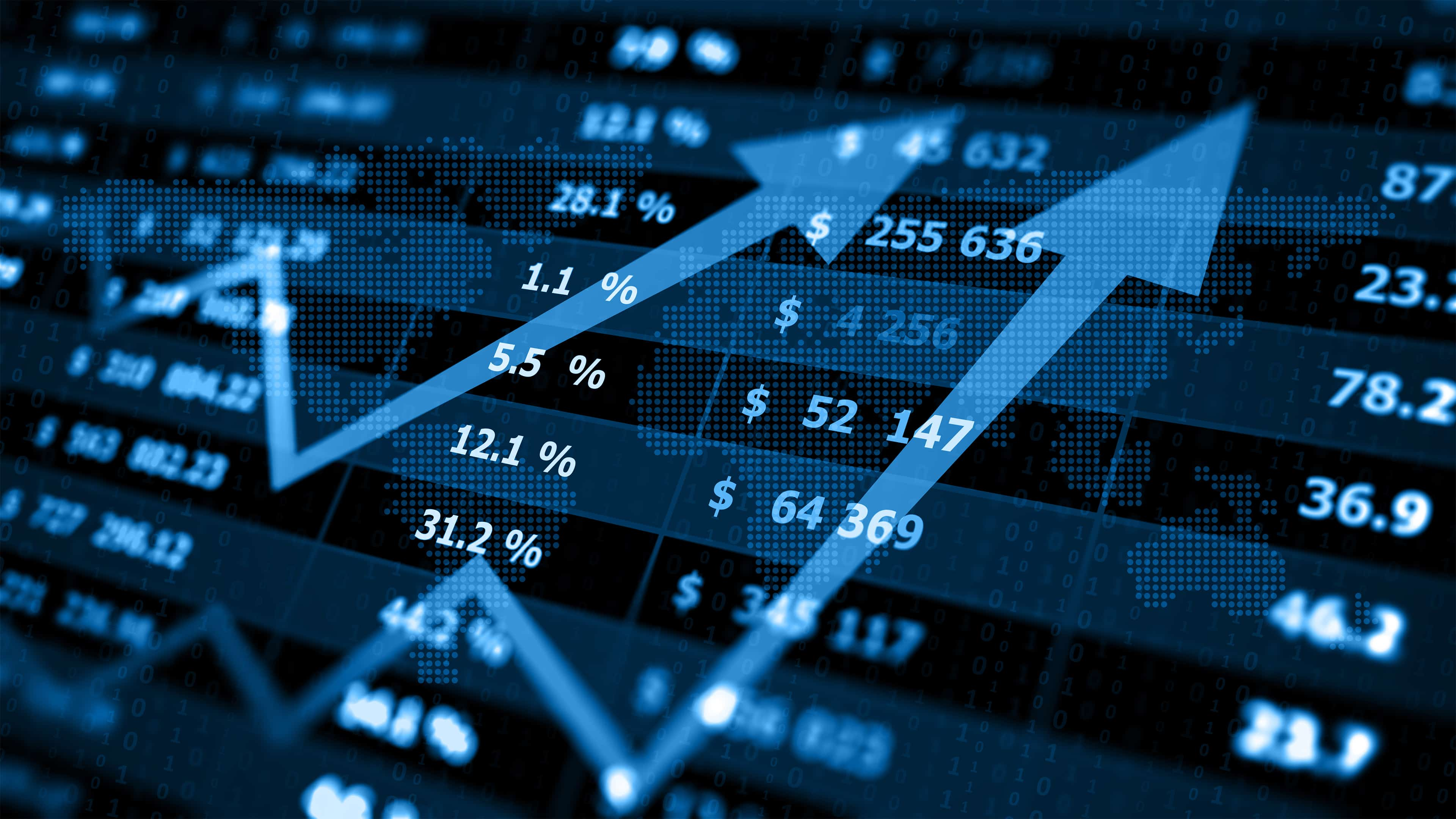 Stock Market Electronic Chart Bullish UHD 4K Wallpaper Pixelz 3840x2160