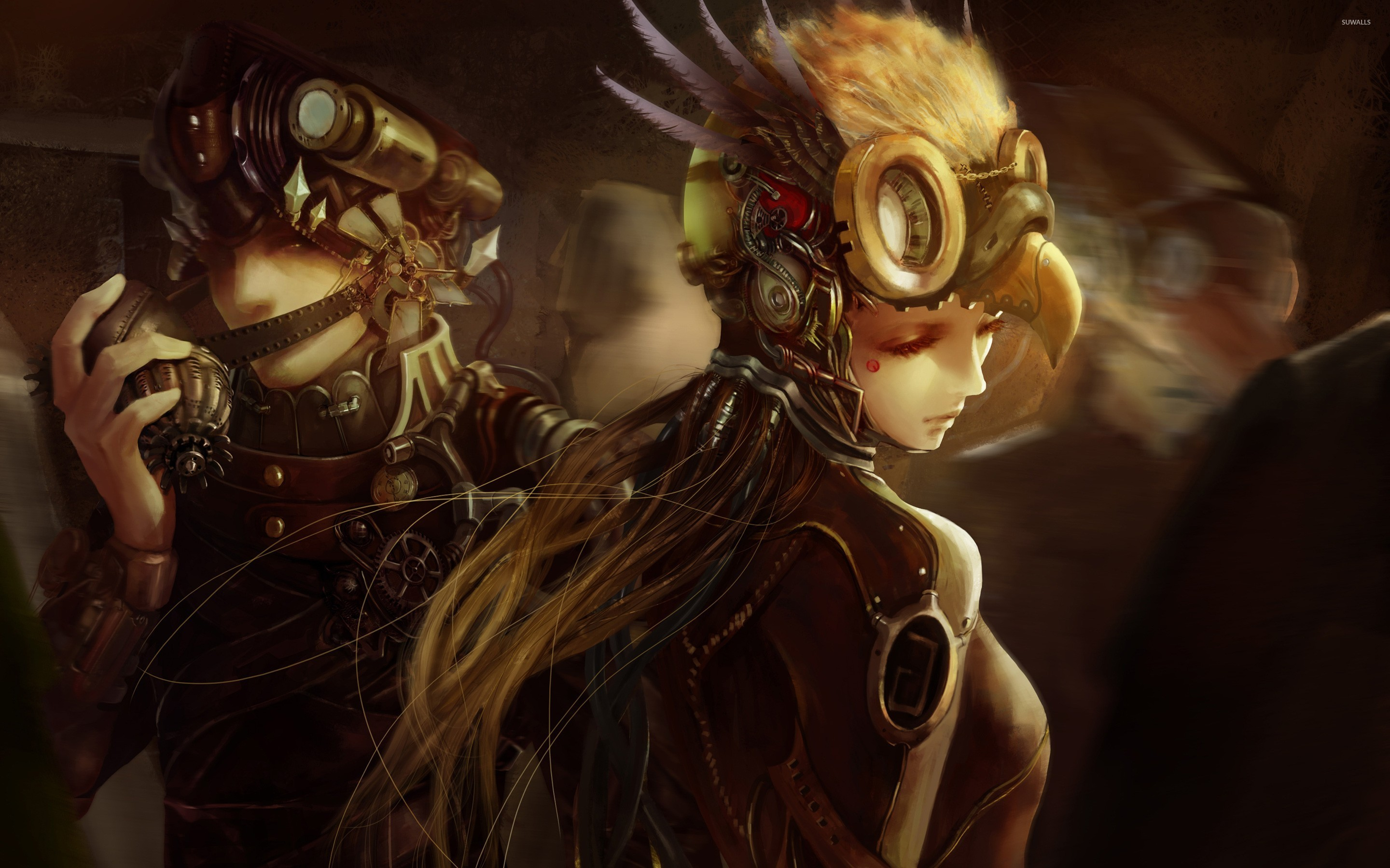 Steampunk soldiers wallpaper   Fantasy wallpapers   25356 2880x1800