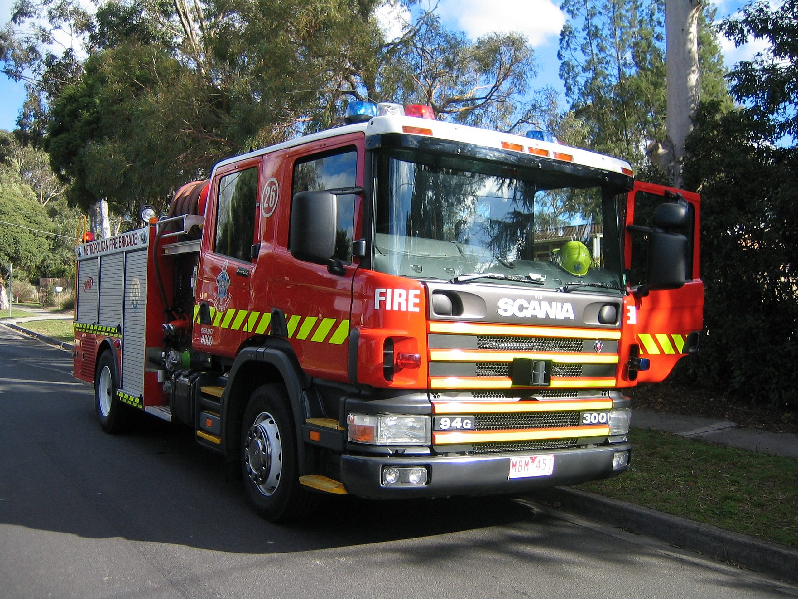 Scania Fire Truck Computer Wallpapers Desktop Backgrounds 2560x1920 2560x1920