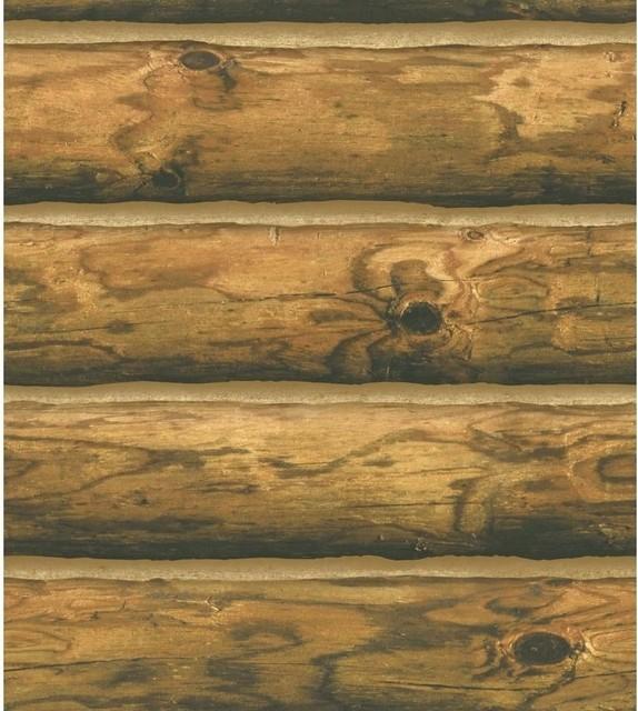 Ch7980 Mountain Logs Lodge Wood Stripe Wallpaper   Rustic   Wallpaper 574x640
