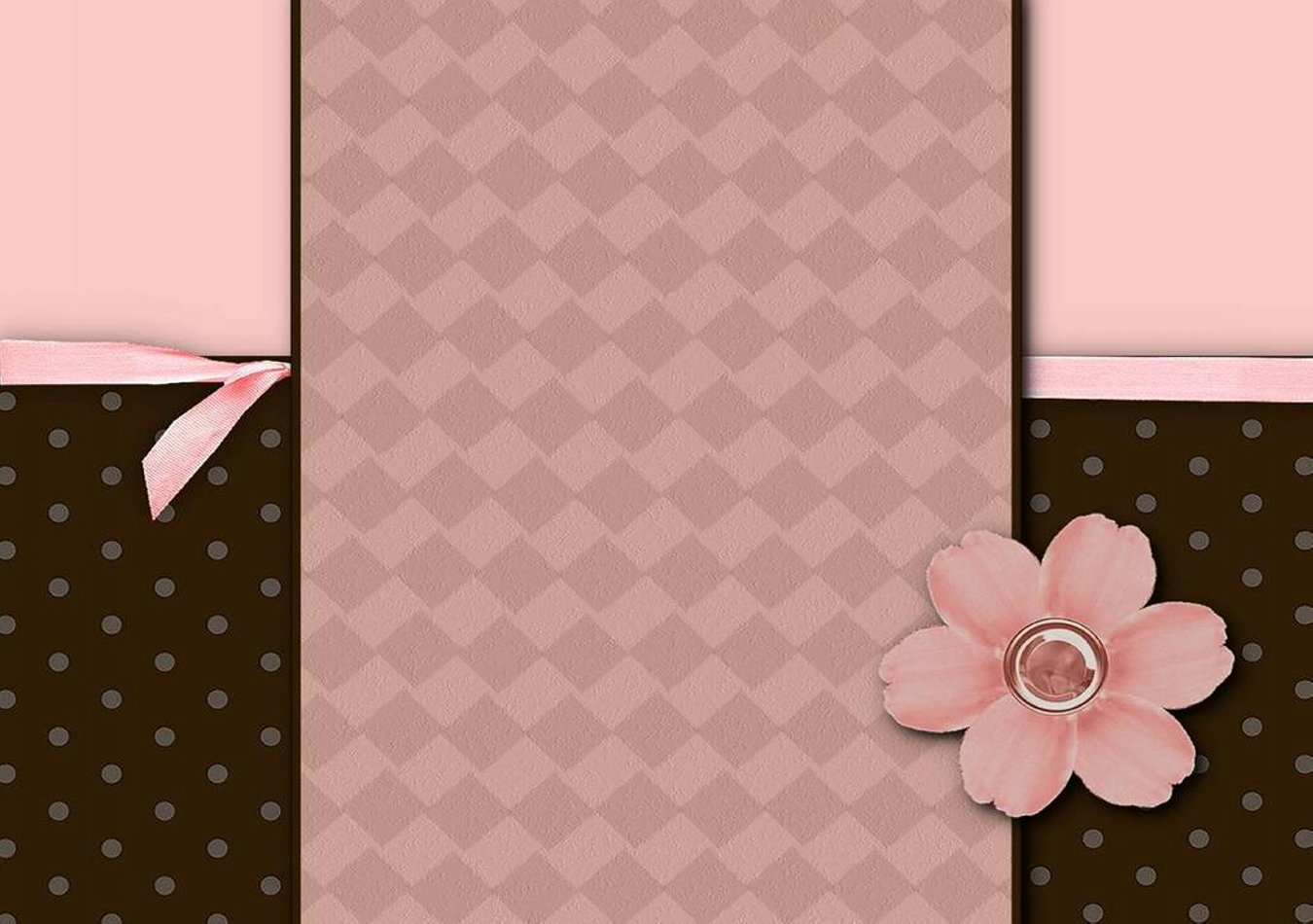 Pink and Brown Wallpaper - WallpaperSafari