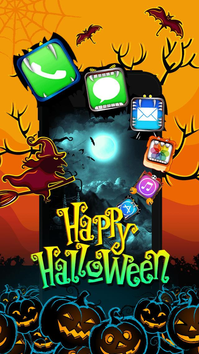 Cute Halloween Wallpaper Iphone   Happy Halloween Wallpaper For 640x1136