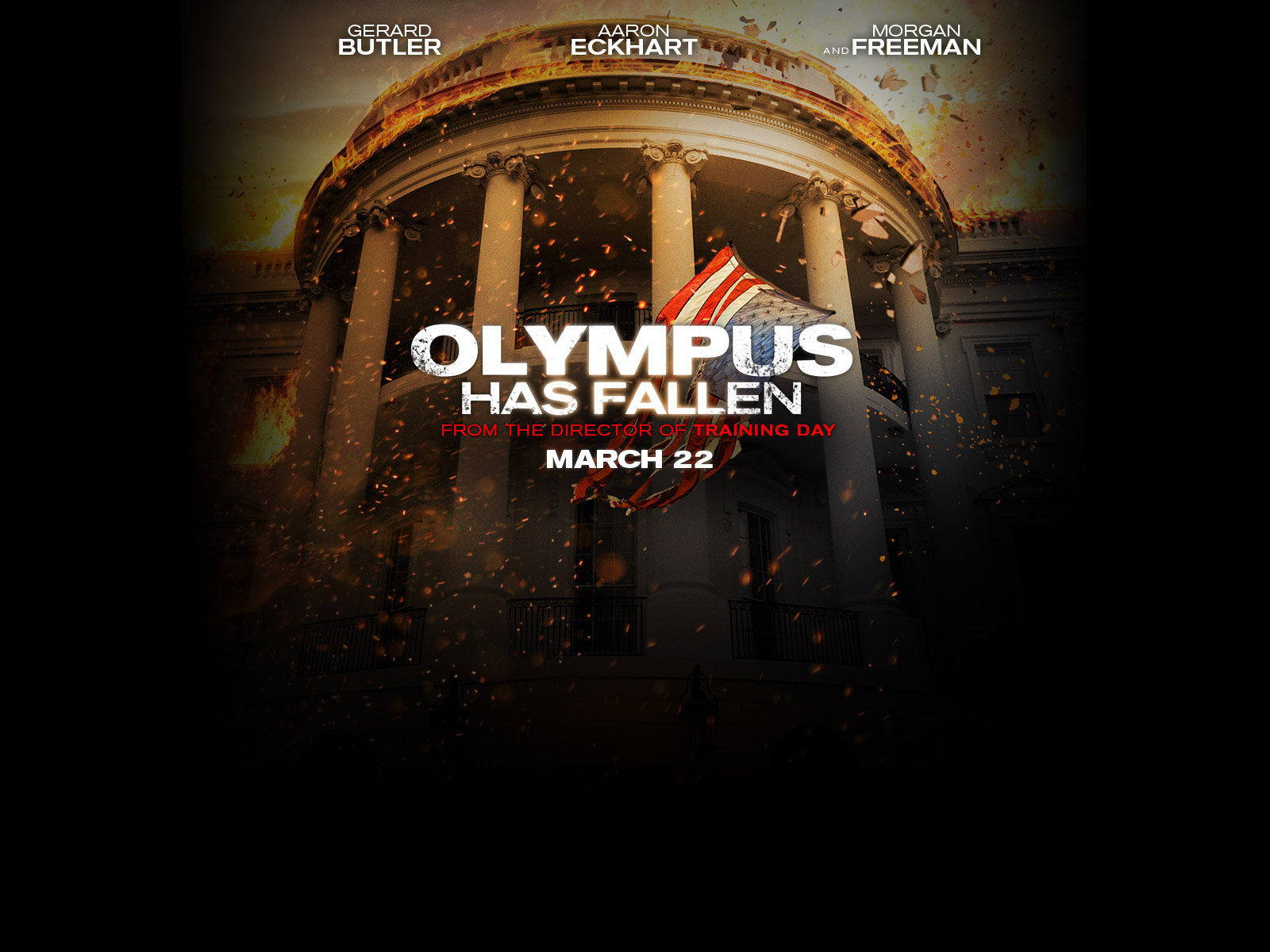 Olympus has Fallen wallpaper Olympus has Fallen hd wallpaper 1600x1200