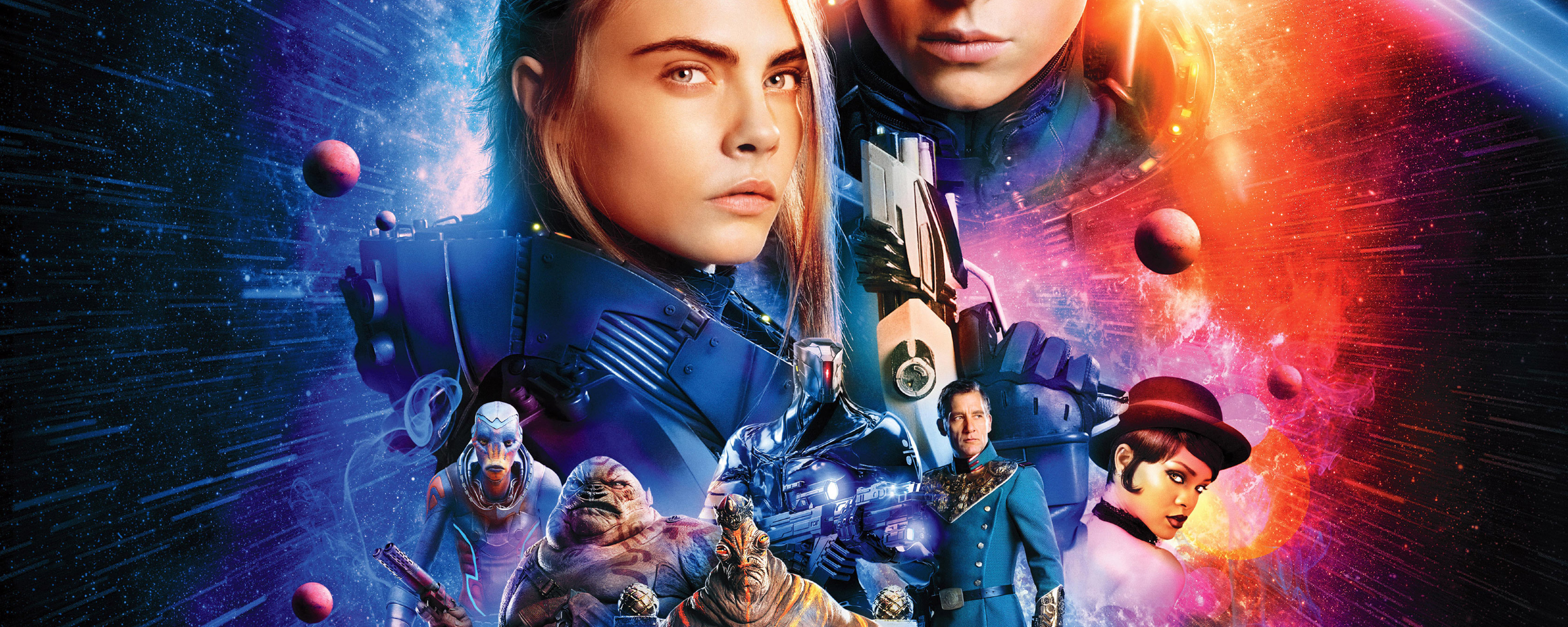 Valerian and the City of a Thousand Planets Wallpaper 8   2560 X 2560x1024