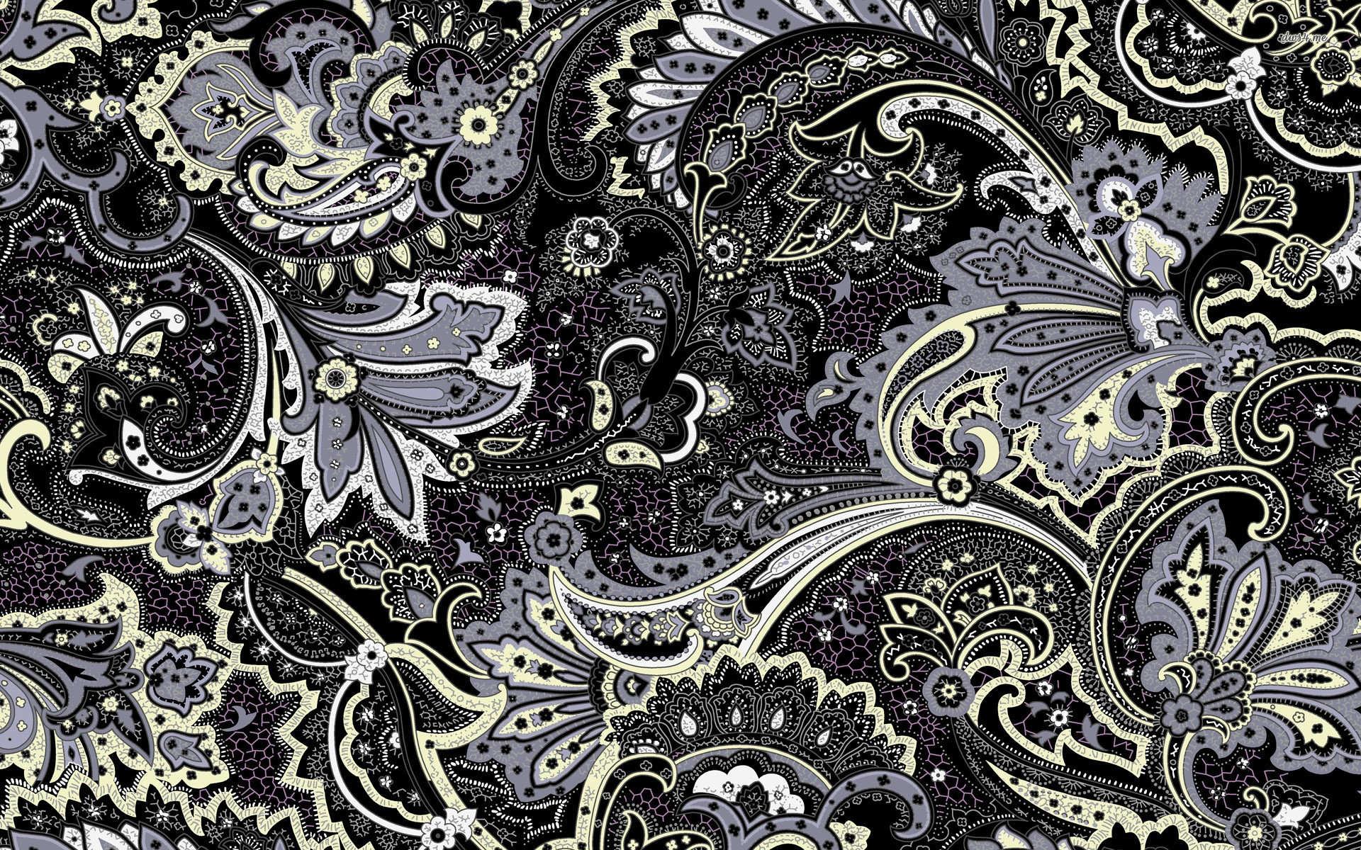 47 Floral Pattern Wallpaper On Wallpapersafari