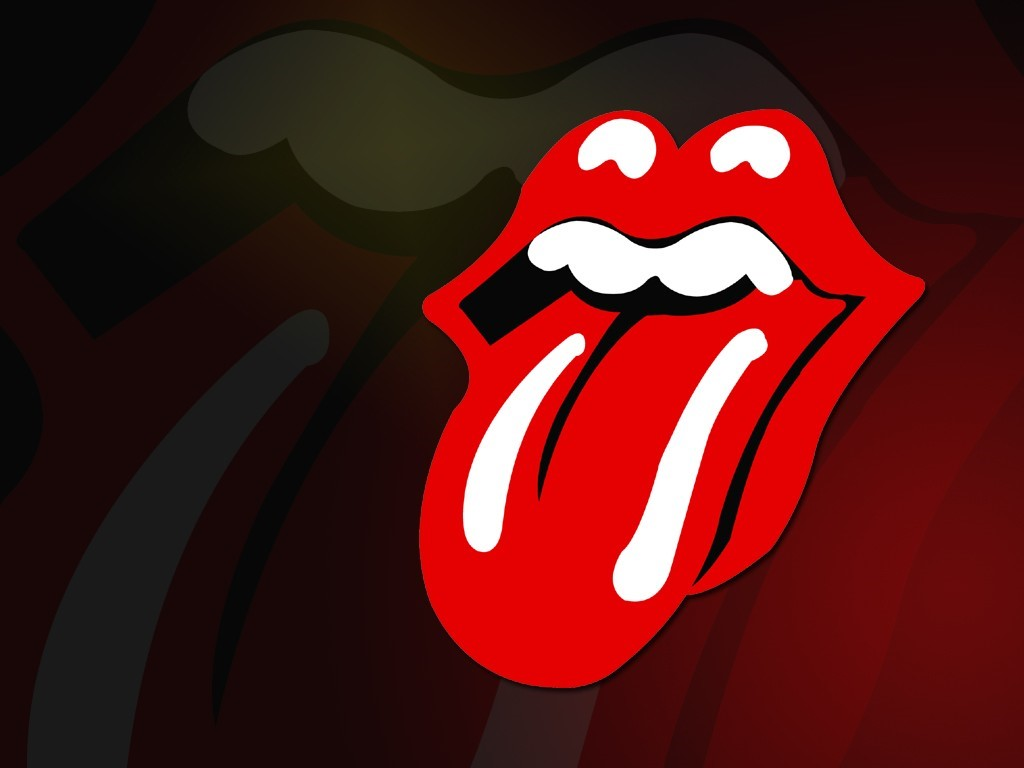 image Rolling Stones Logo PC Android iPhone and iPad Wallpapers 1024x768