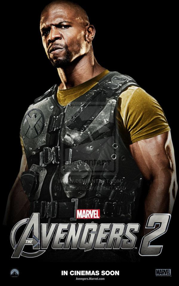 Avengers 2 Luke Cage Poster by heatona 600x959