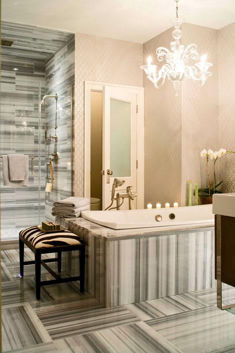 30 Bathroom Wallpaper Ideas Shelterness 470x705