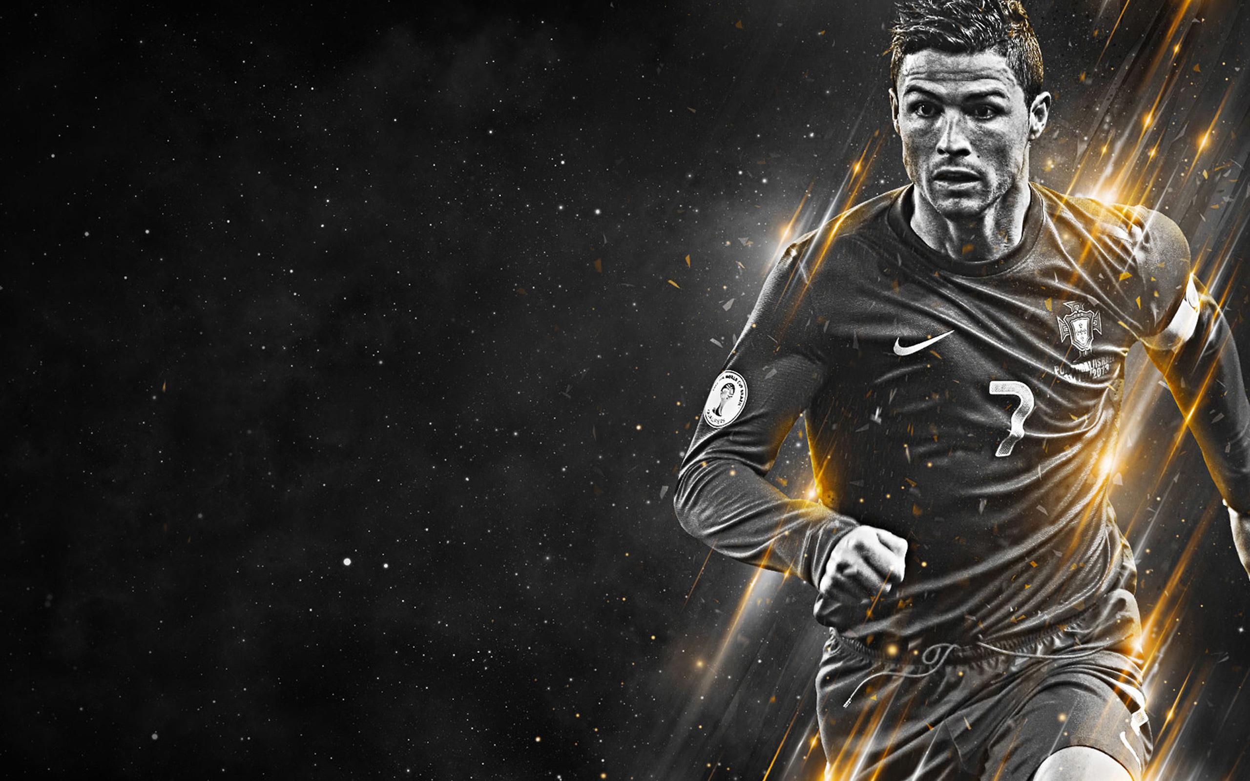 Cristiano Ronaldo black and white wallpaper   Cristiano 2560x1600