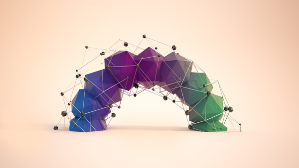 Low Poly [Wallpaper] on Behance 600x338