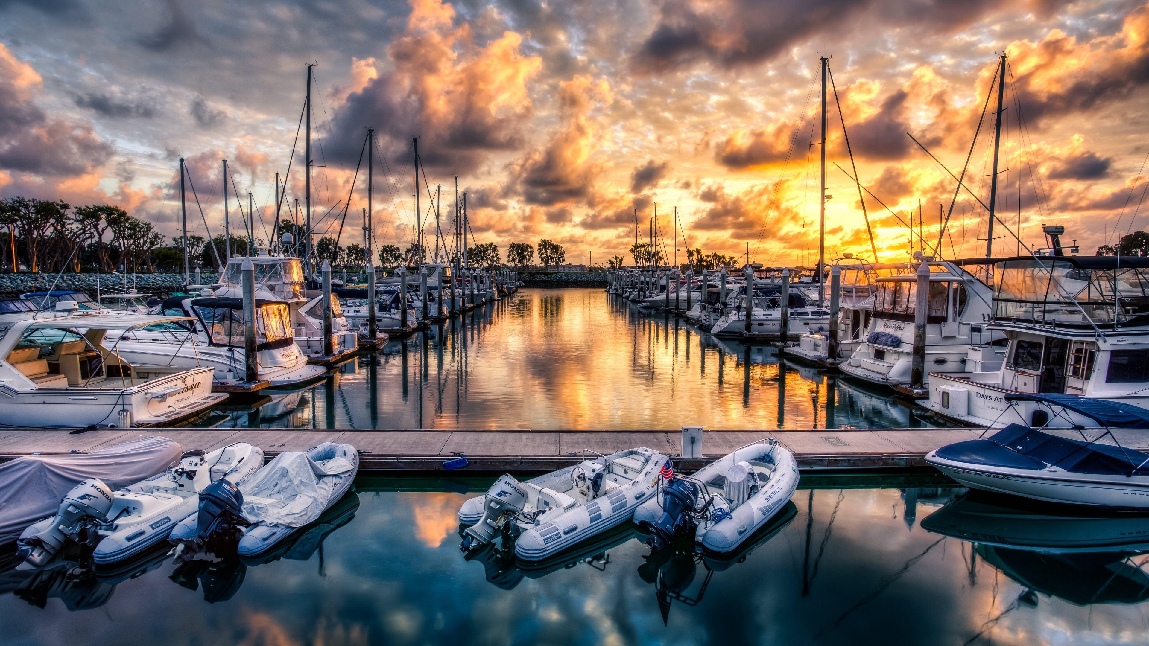 55 Boat Marina Desktop Wallpapers   Download at WallpaperBro 3840x2160
