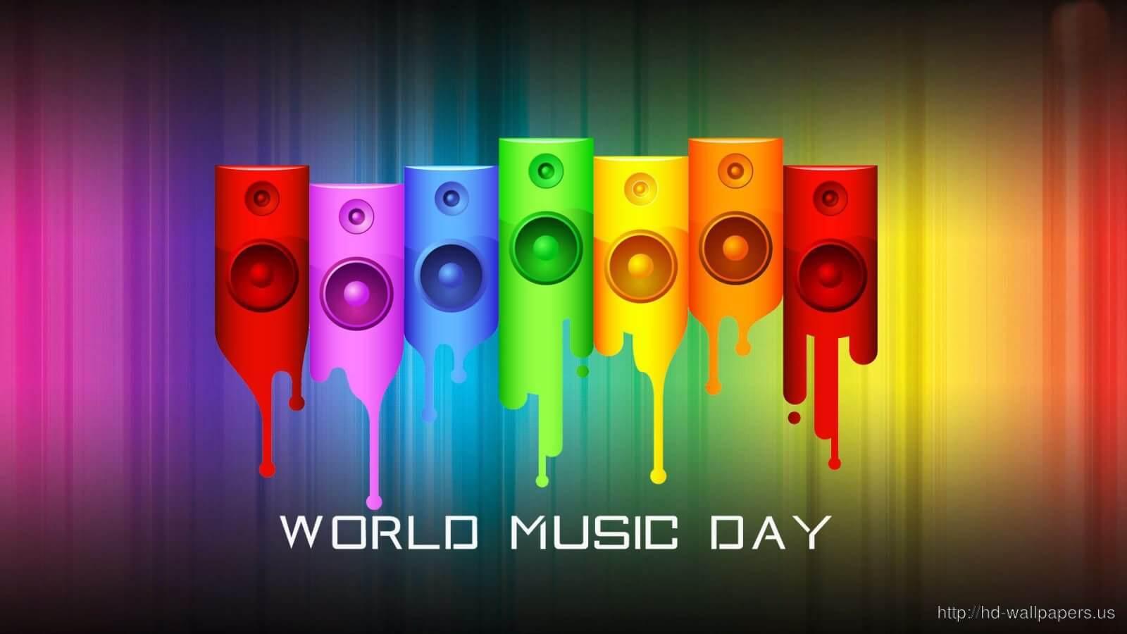 World Music Day HD Wallpaper 1600x900