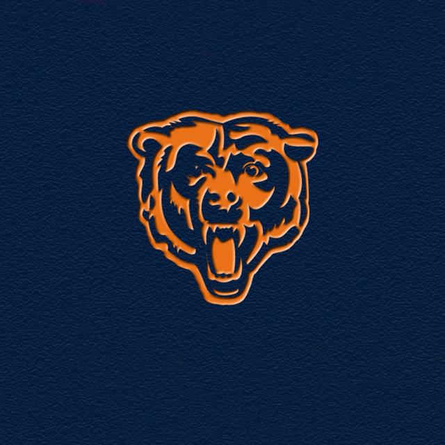 Chicago Bears Team Logos iPad Wallpapers Chicago Bears blue ipad 640x640
