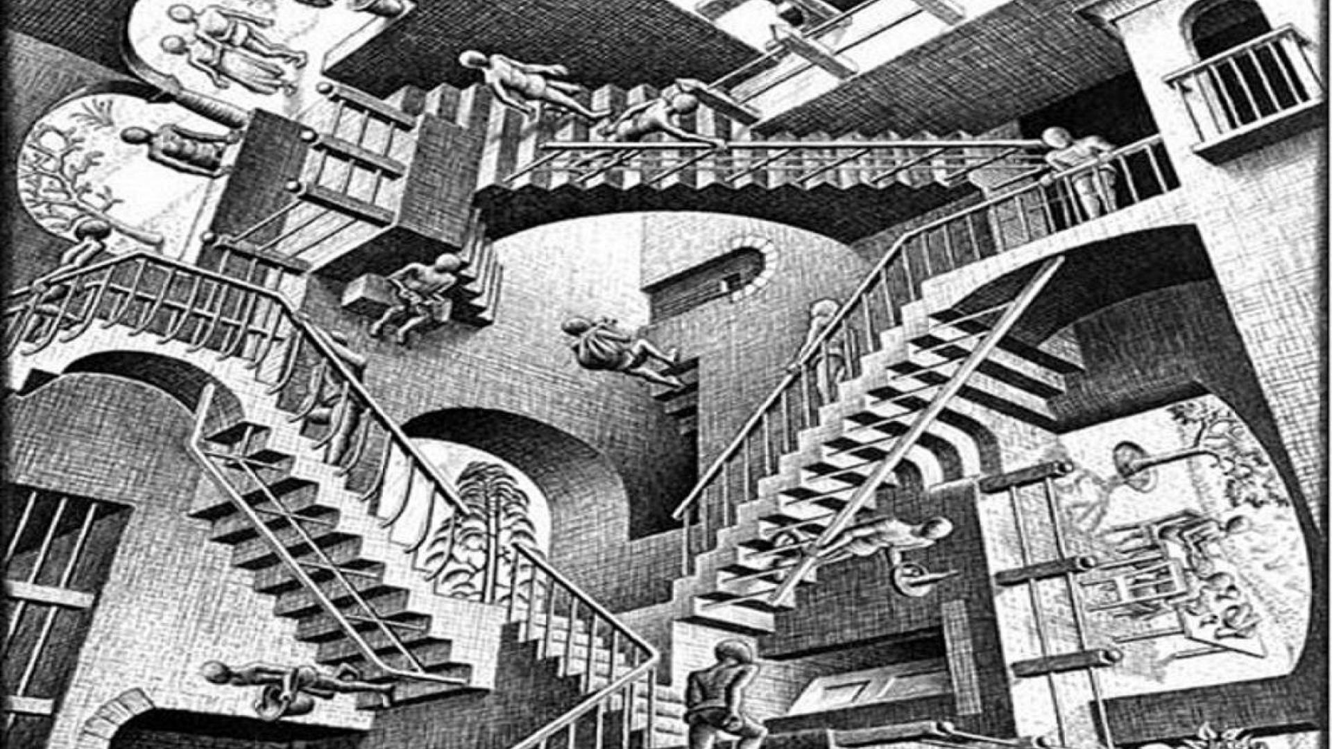 Escher Wallpapers Free Wallpapersafari