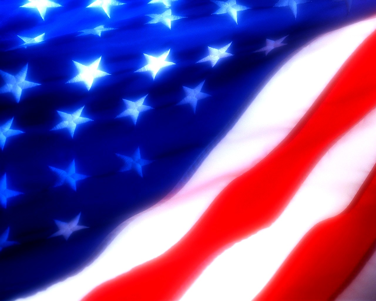 Home Holidays 4th of July American Flag Powerpoint Background 1280x1024