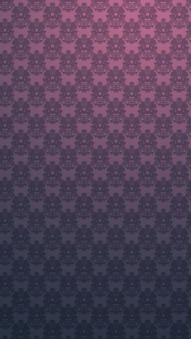 Seamless Vintage Floral Pattern Wallpaper   iPhone Wallpapers 640x1136