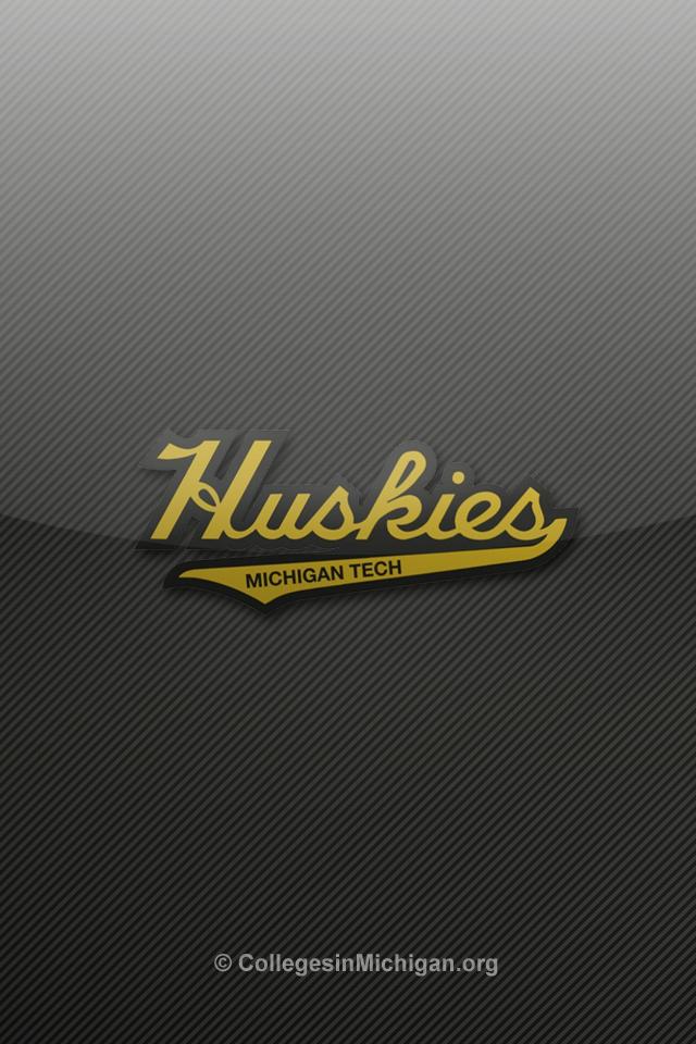 thumbs michigan tech huskies iphone wallpaper 3 Michigan Tech Huskies 640x960