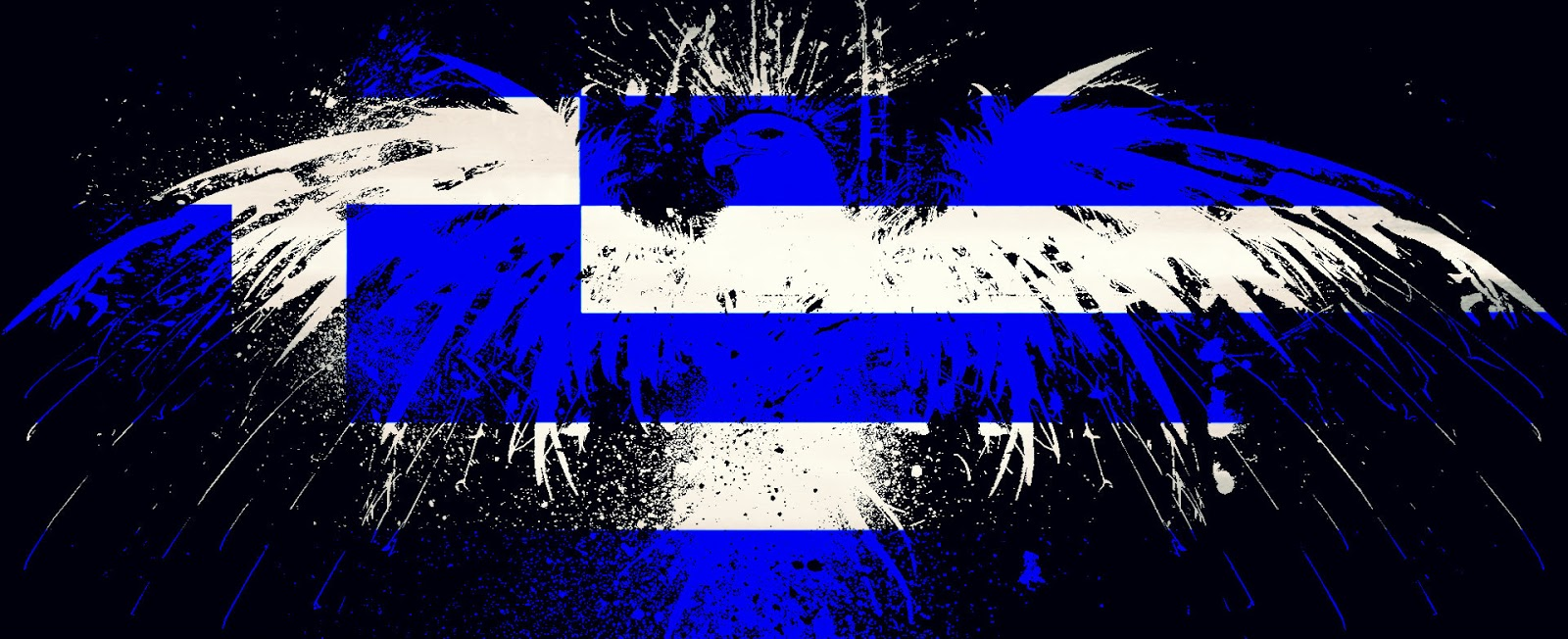greek flag wallpaper 1600x652