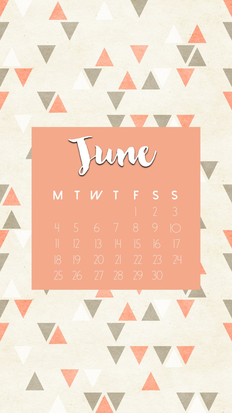 June 2018 iPhone Calendar Wallpapers Max Calendars 750x1334
