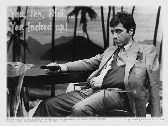 SCARFACE WALLPAPER 640x480