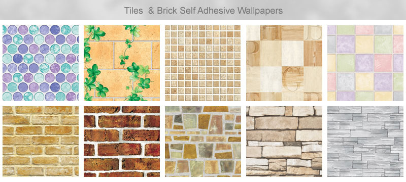 wallpapers and brick effect self adhesive wallpapers as below the 800x360