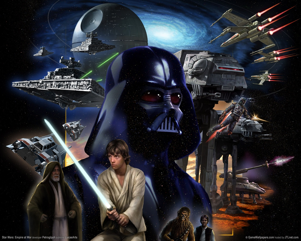 46 Star Wars Wallpaper 1280x1024 On Wallpapersafari