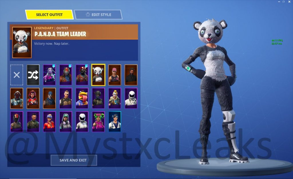 In game Images of the Newly Leaked v52 Skins Fortnite Insider 1024x628