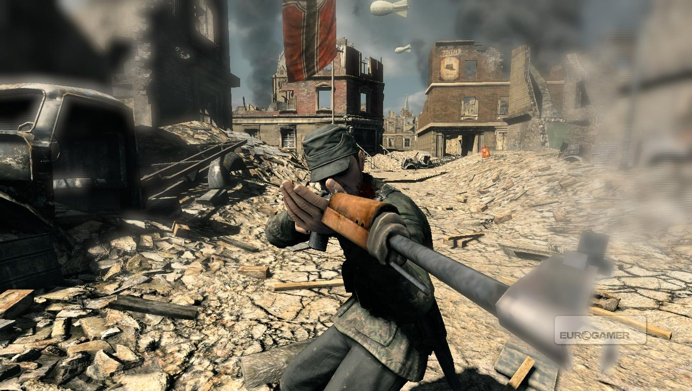 Sniper Elite V2 desktop wallpaper 56 of 124 Video Game Wallpapers 1360x768