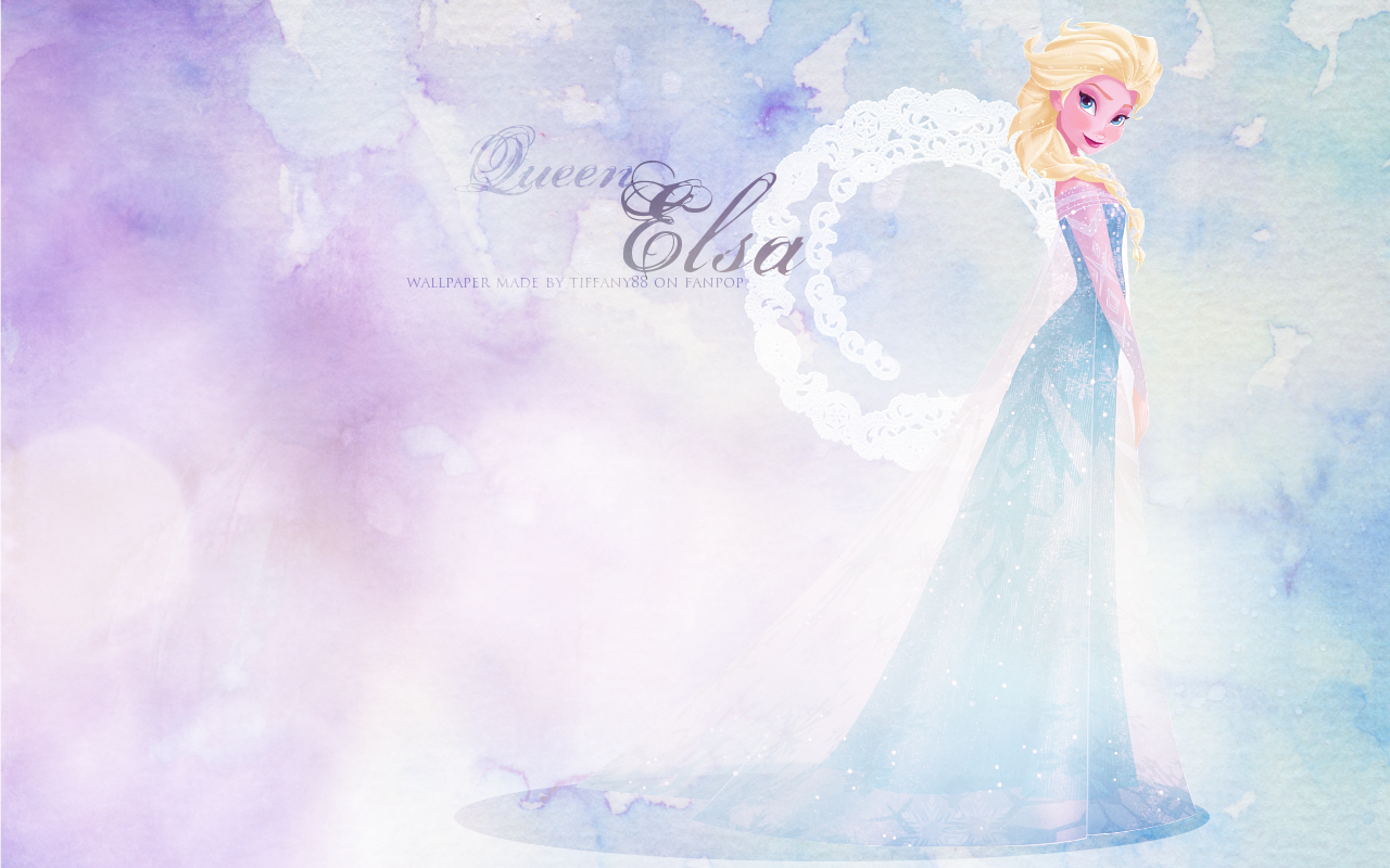 Queen Elsa   Elsa the Snow Queen Wallpaper 36210618 1280x800