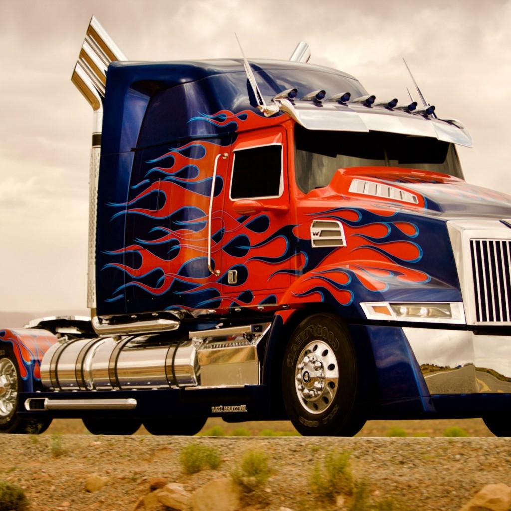 Optimus Prime Wallpaper Hd: Optimus Prime Truck Wallpaper