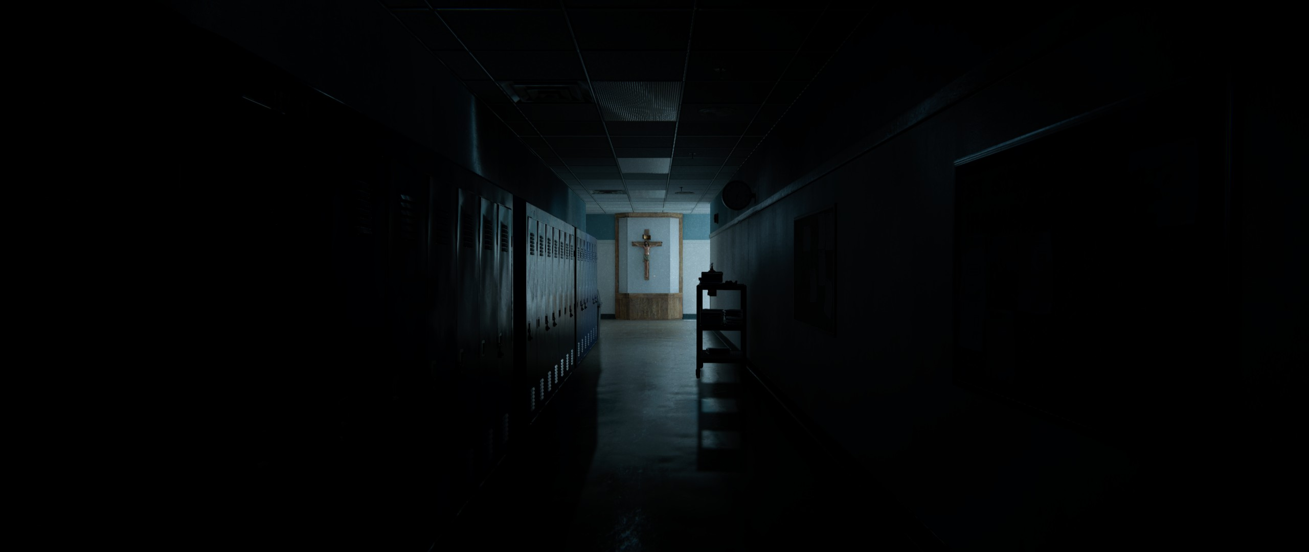 17 Outlast 2 HD Wallpapers Background Images 2560x1080
